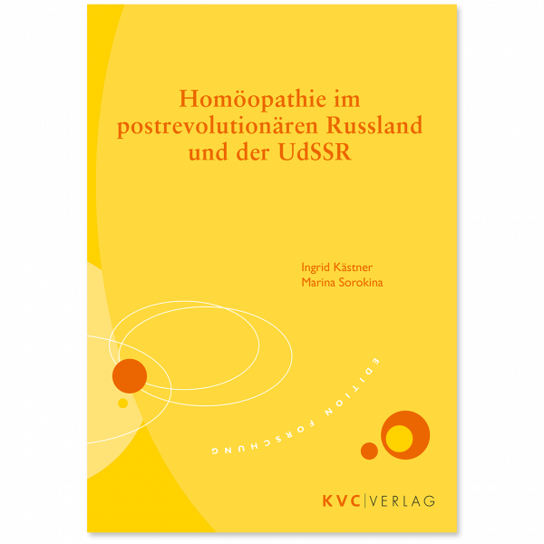 KVC Verlag – Homöopathie im postrevolutionären Russland und der UdSSSR