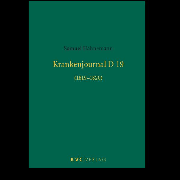 KVC Verlag – Krankenjournal D19
