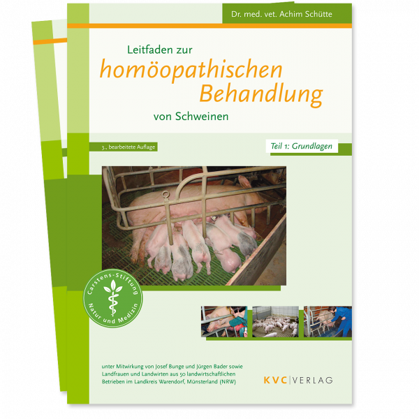KVC Verlag – Leitfaden zur homöopathischen Behandlung von Schweinen