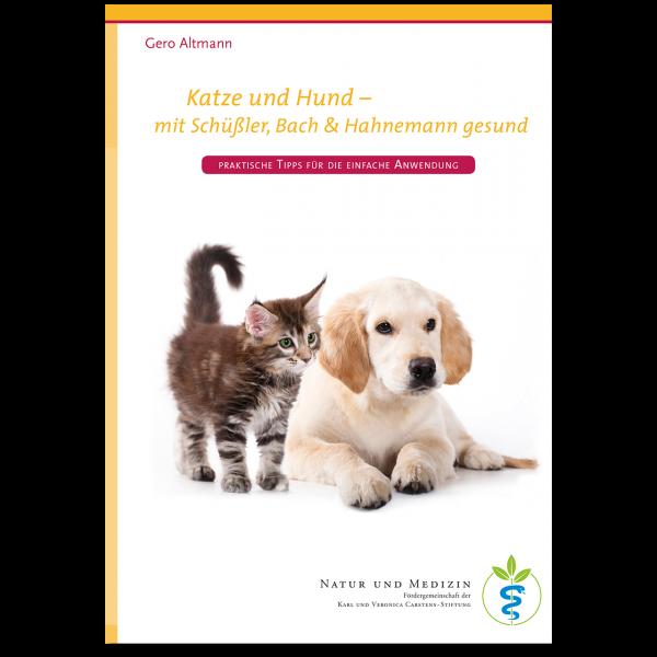 KVC Verlag – Katze und Hund mit Schüßler, Bach & Hahnemann gesund
